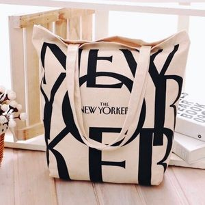 [The New Yorker] The New Yorker Canvas Tote